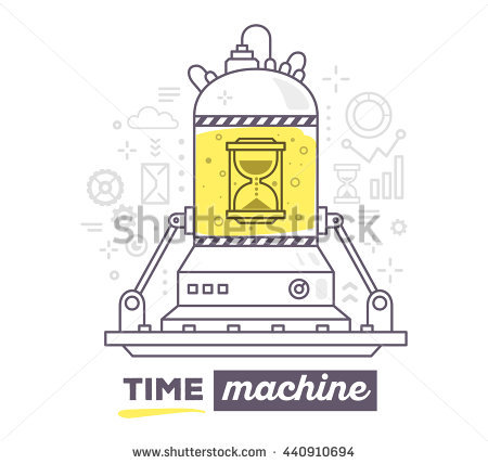 Time Machine Stock Images, Royalty.