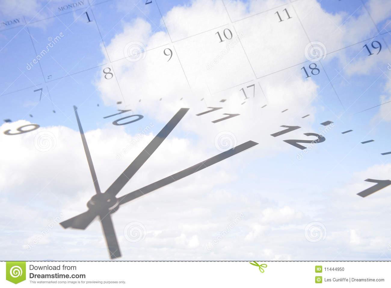 Calendar clipart time passing.