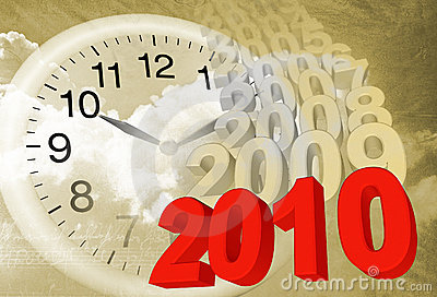 Time Passing By Royalty Free Stock Images.