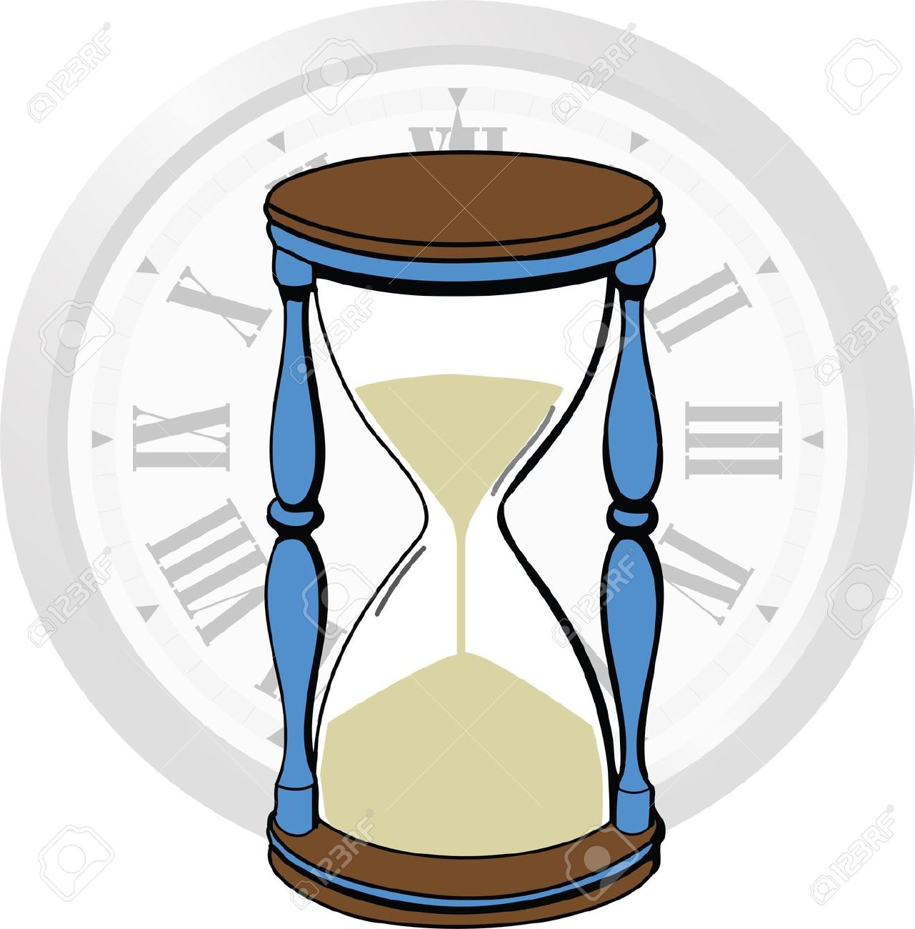 Time passing clipart.