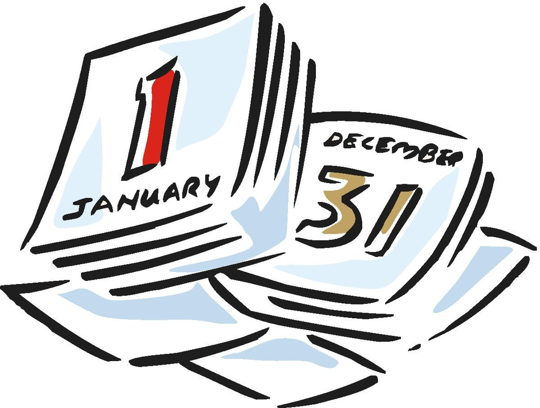 Calendar Time Passing.