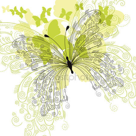 Passion flower butterfly Stock Vectors, Royalty Free Passion.