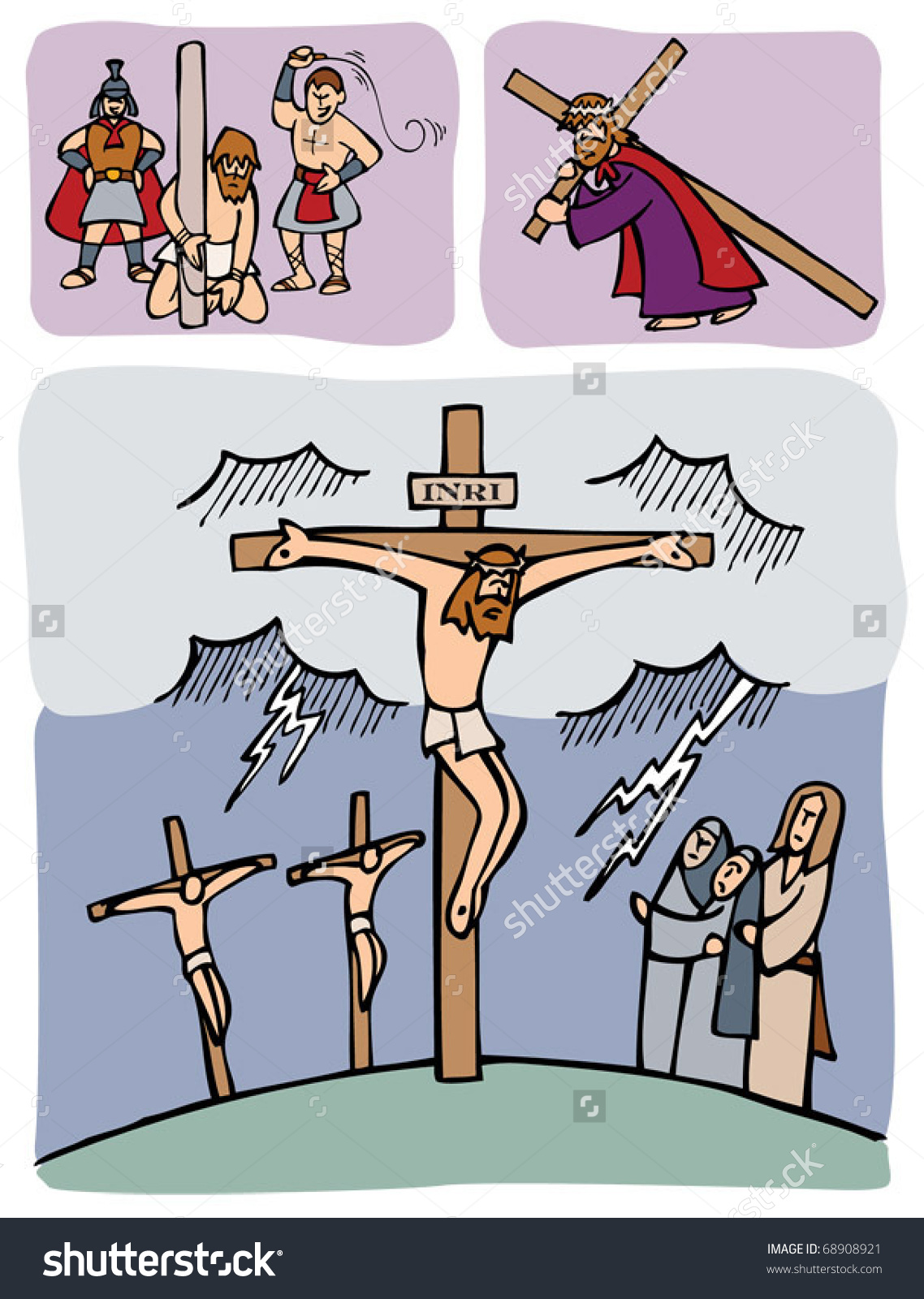 Passion Of Christ Clipart.