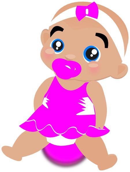 Baby clip art girl http://my.