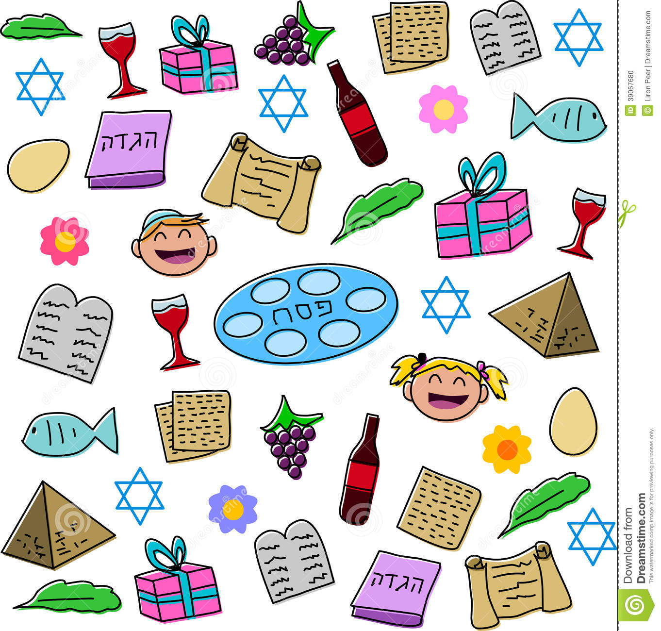 Passover Stock Illustrations.