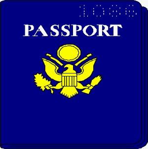 Free passport Clipart.