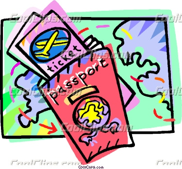 Cartoon Passport Clipart Clipground