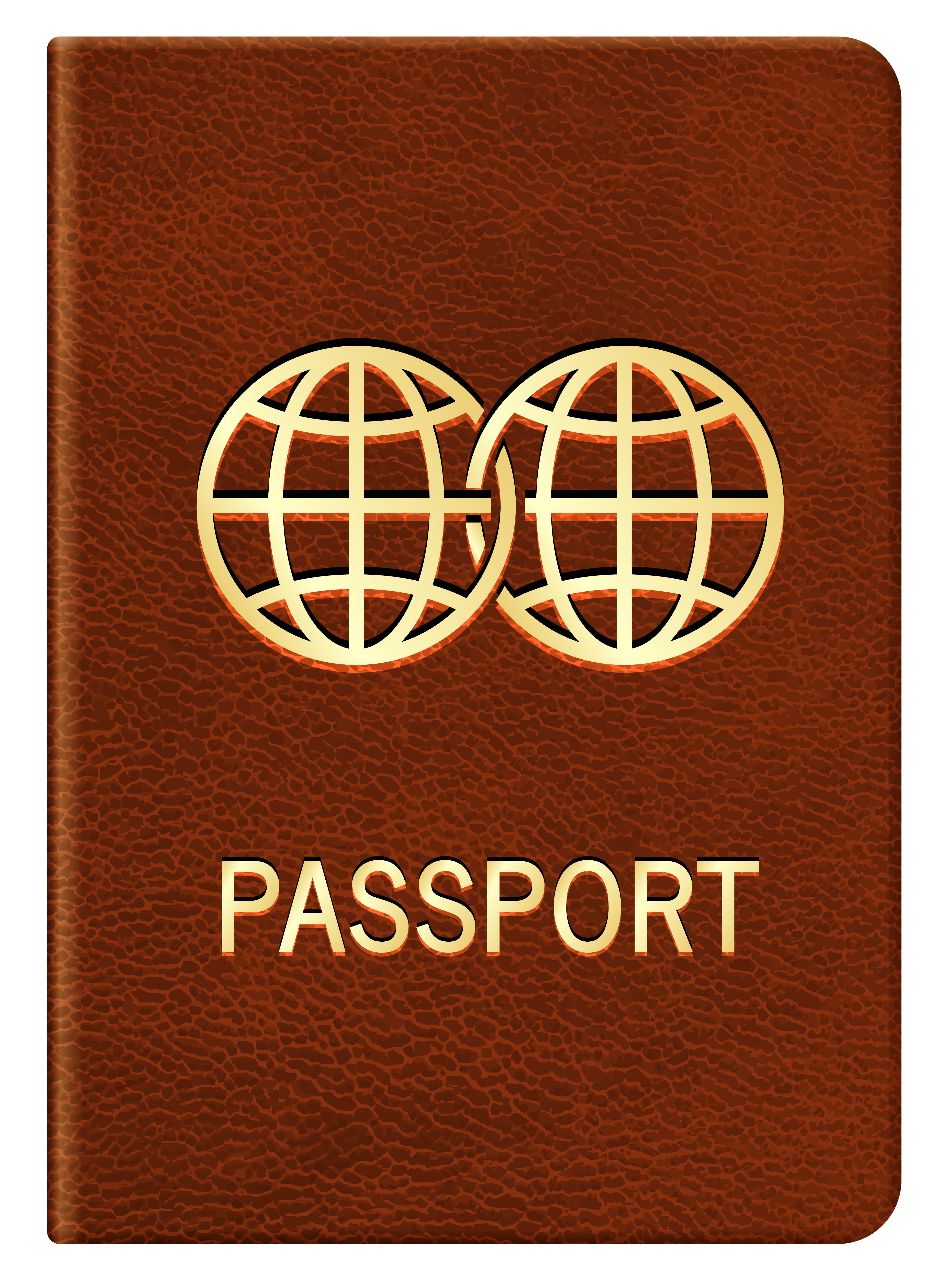 cartoon passport clipart - Clipground