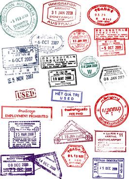 Passport stamp clip art free vector download (220,316 Free.
