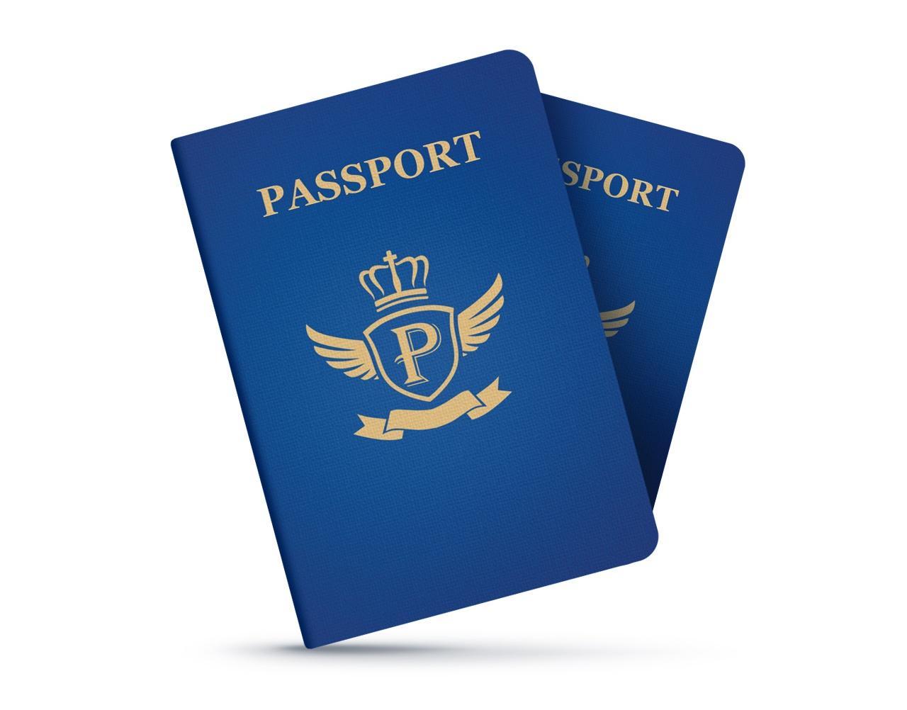Passport Photo Clipart.