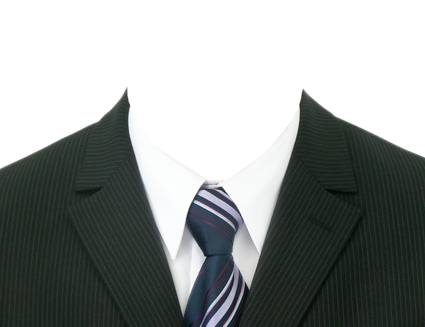Passport Size Photo With Suit Png (+).