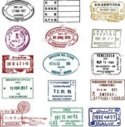 Free Passport Stamp Clipart and Vector Graphics.