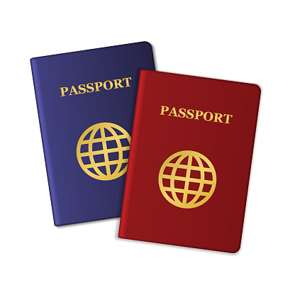 Passport Clip Art, Vector Images & Illustrations.