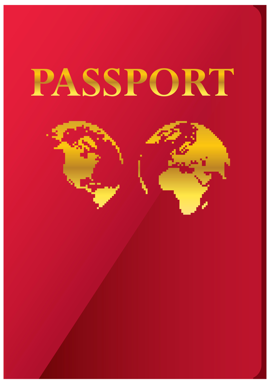 Passport Transparent PNG Clip Art Image.