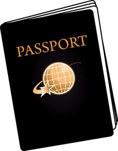 Passports clipart.