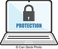 Clip Art of Password protected concept with key csp9177372.