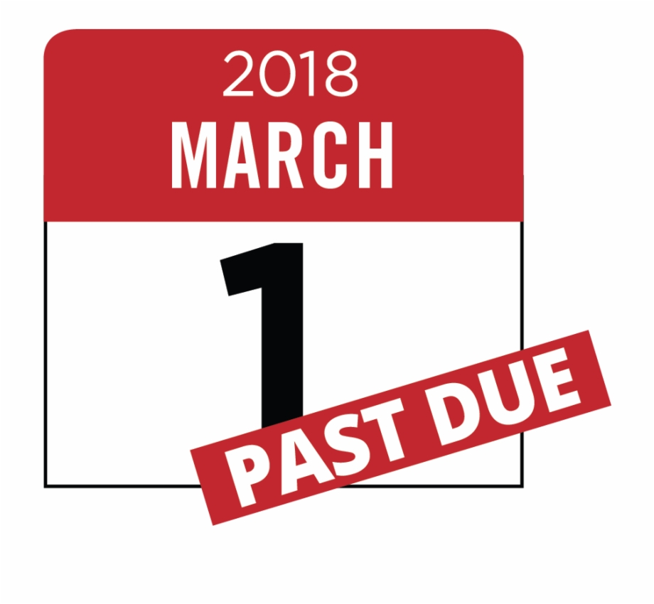 2018 March 1, Past Due.