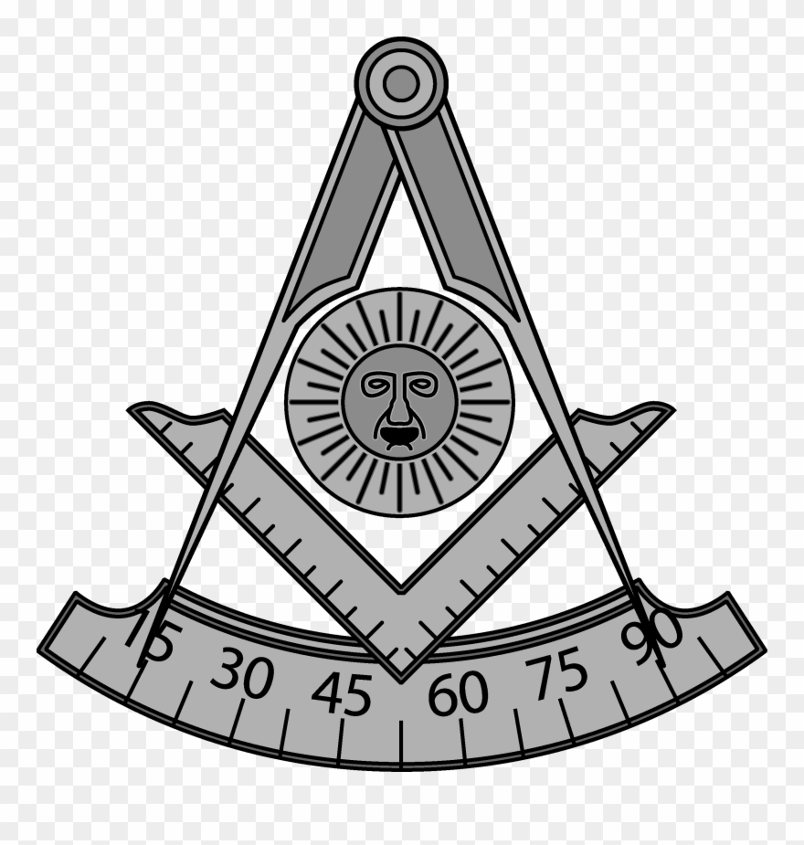Freemason Vector Black And White Black And White Library.