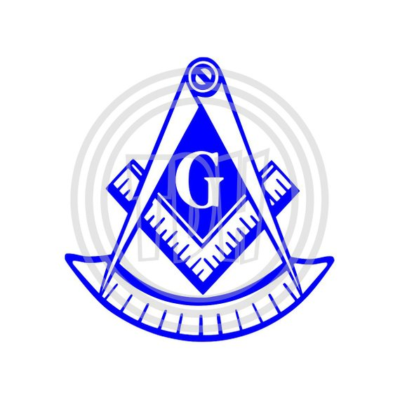 Masonic Past Master Square and Compass 1 Decal for Your YETI.