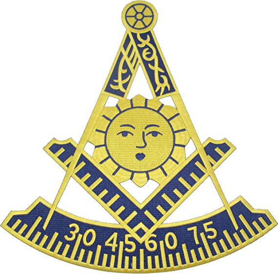 Amazon.com: Mason Past Master Symbol Iron.