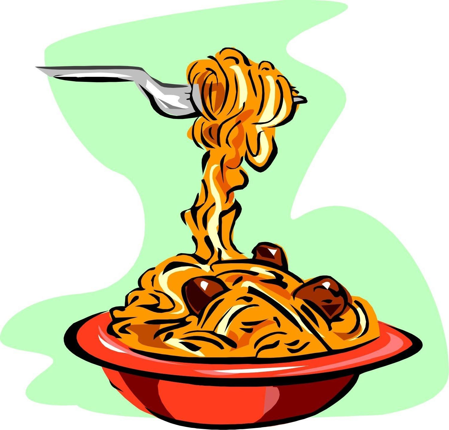 Bowl Of Pasta Clipart.