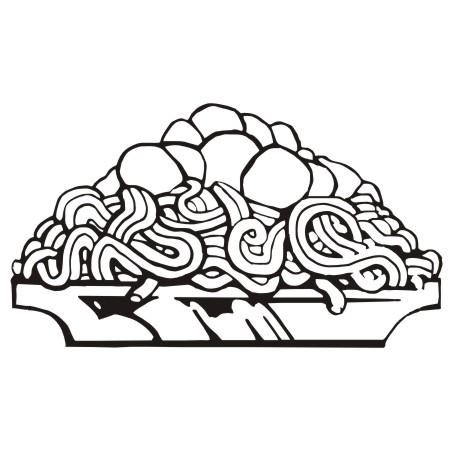 Download pasta clip art free clipart of spaghetti 6 2.
