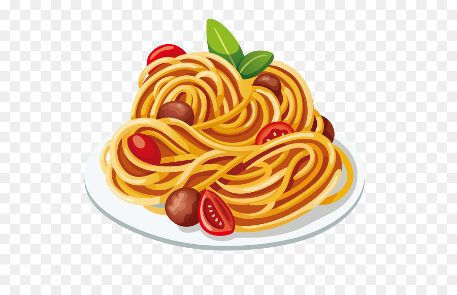 Download Free png Pasta Italian cuisine Spaghetti with.