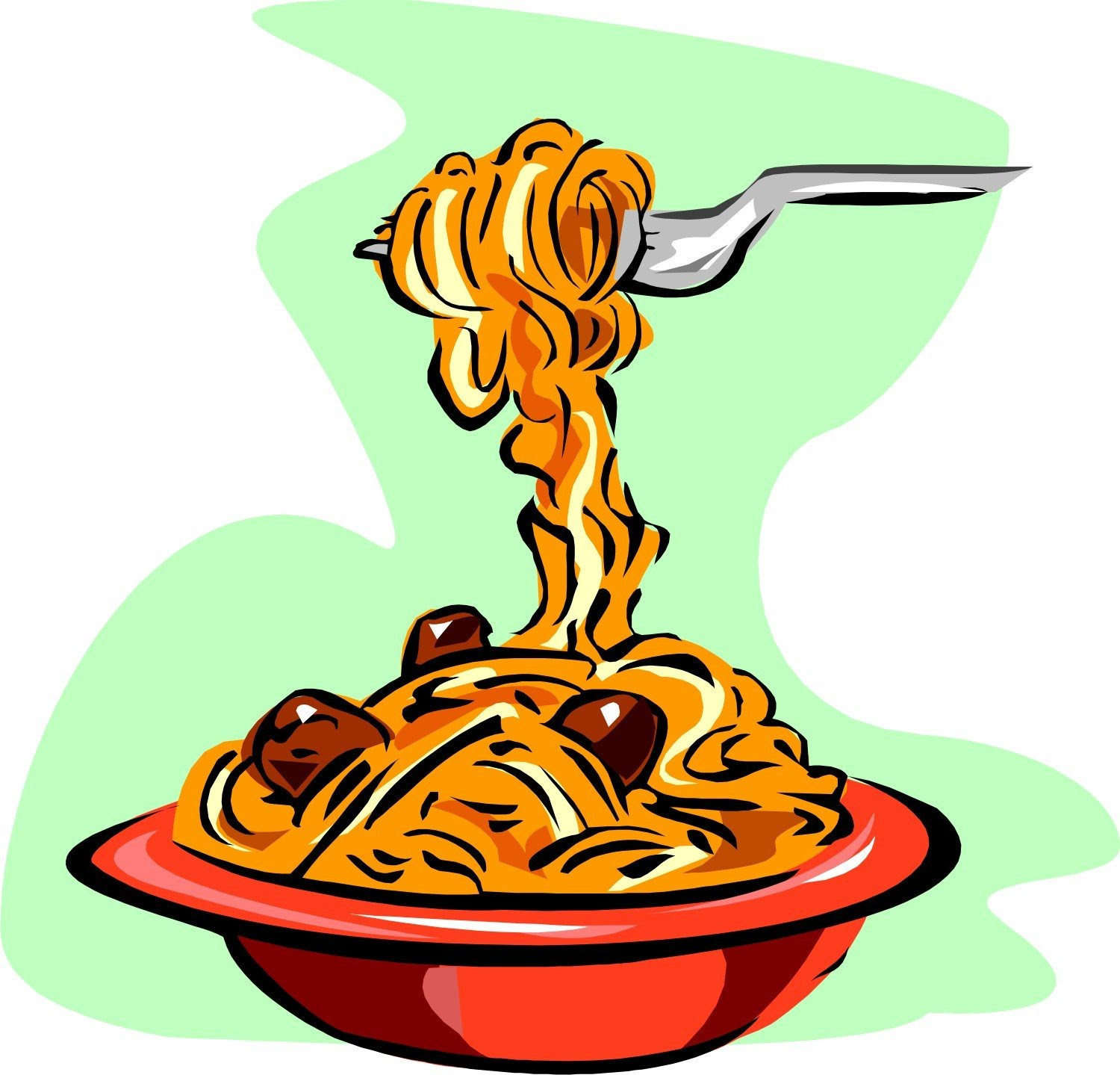 Pasta clipart 6 » Clipart Station.