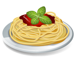 Pasta clipart » Clipart Station.