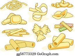 Pasta Clip Art.