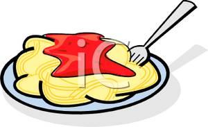 Pasta Free Spaghetti Clipart.