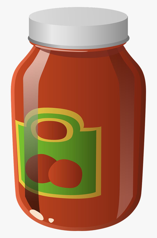 Jar Clipart Spaghetti Sauce.