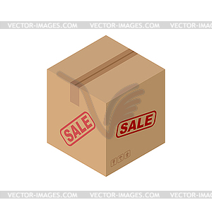 Sale Cardboard box . discount pasteboard case b.