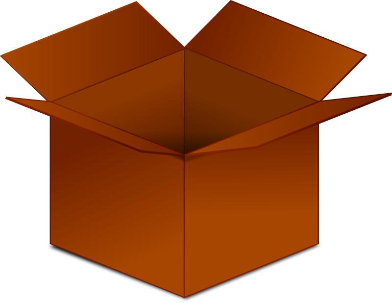 Cardbard Box Clip Art Download.