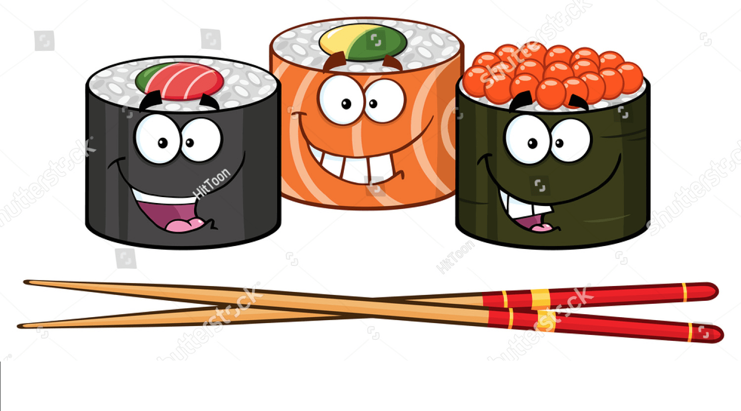 Rice rolls and sushi night this Thursday.