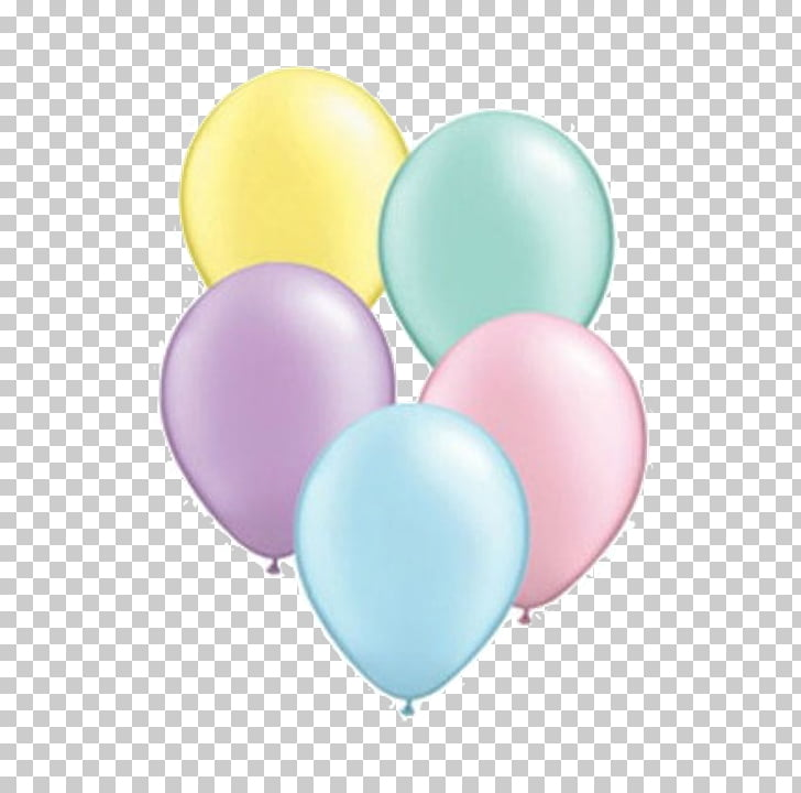 Balloon Pastel Children\'s party Color, balloon PNG clipart.