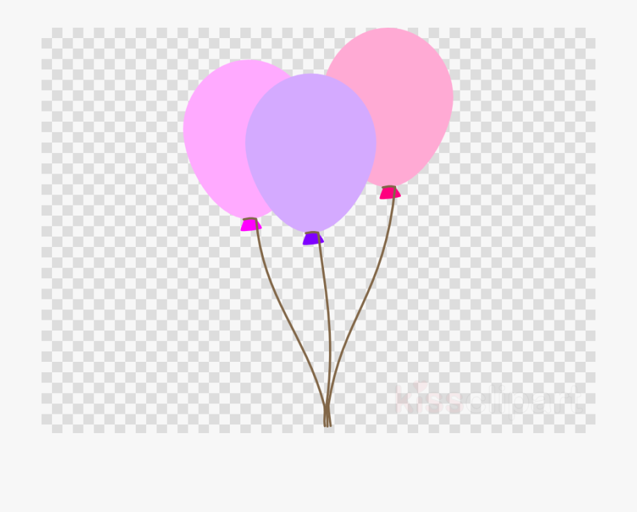 Balloons Png Pastel.