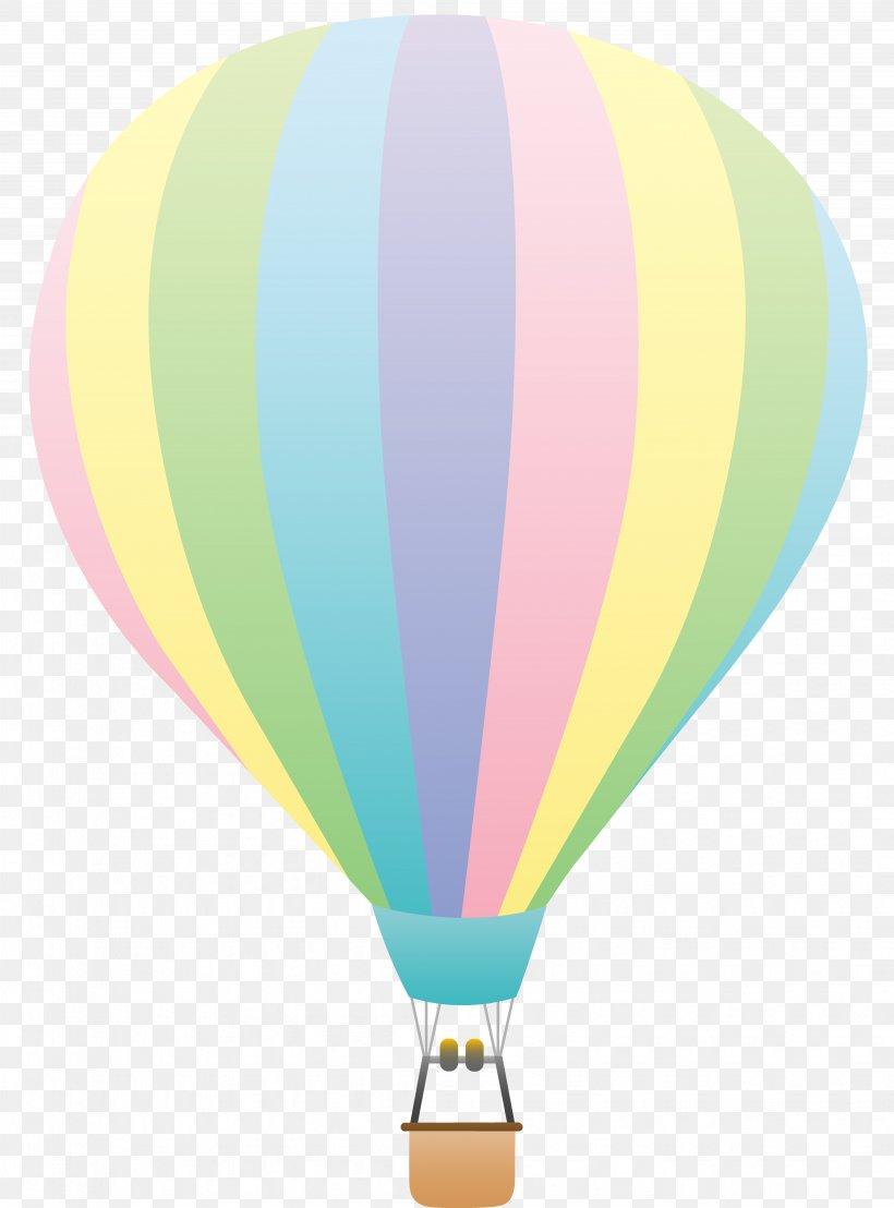 Hot Air Balloon Pastel Clip Art, PNG, 4114x5559px, Hot Air.