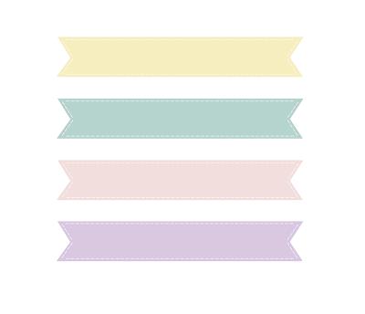 Loveration: Freebies! Cute Pastel Banner Clip Art.