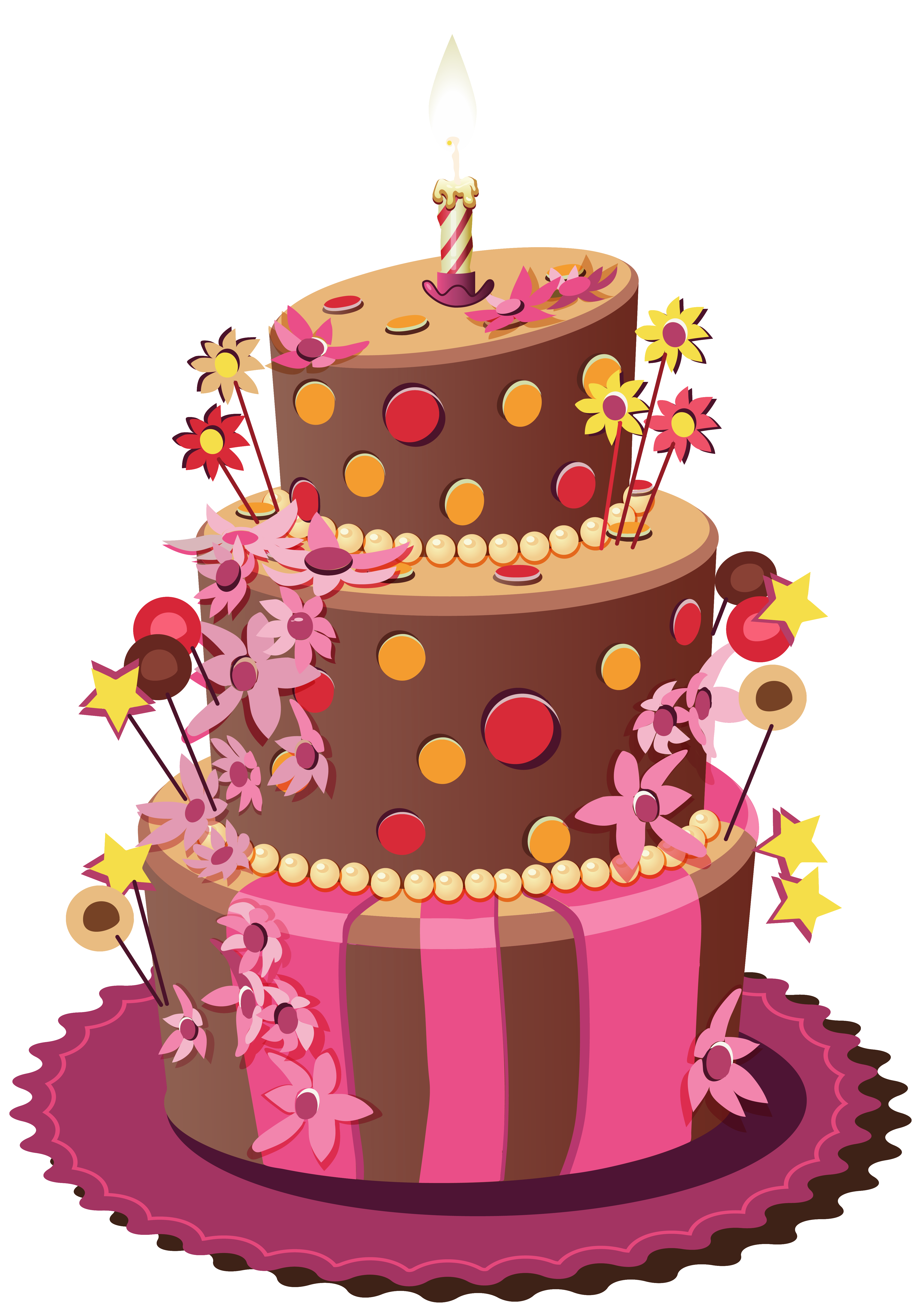 Clipart spring cake, Clipart spring cake Transparent FREE.