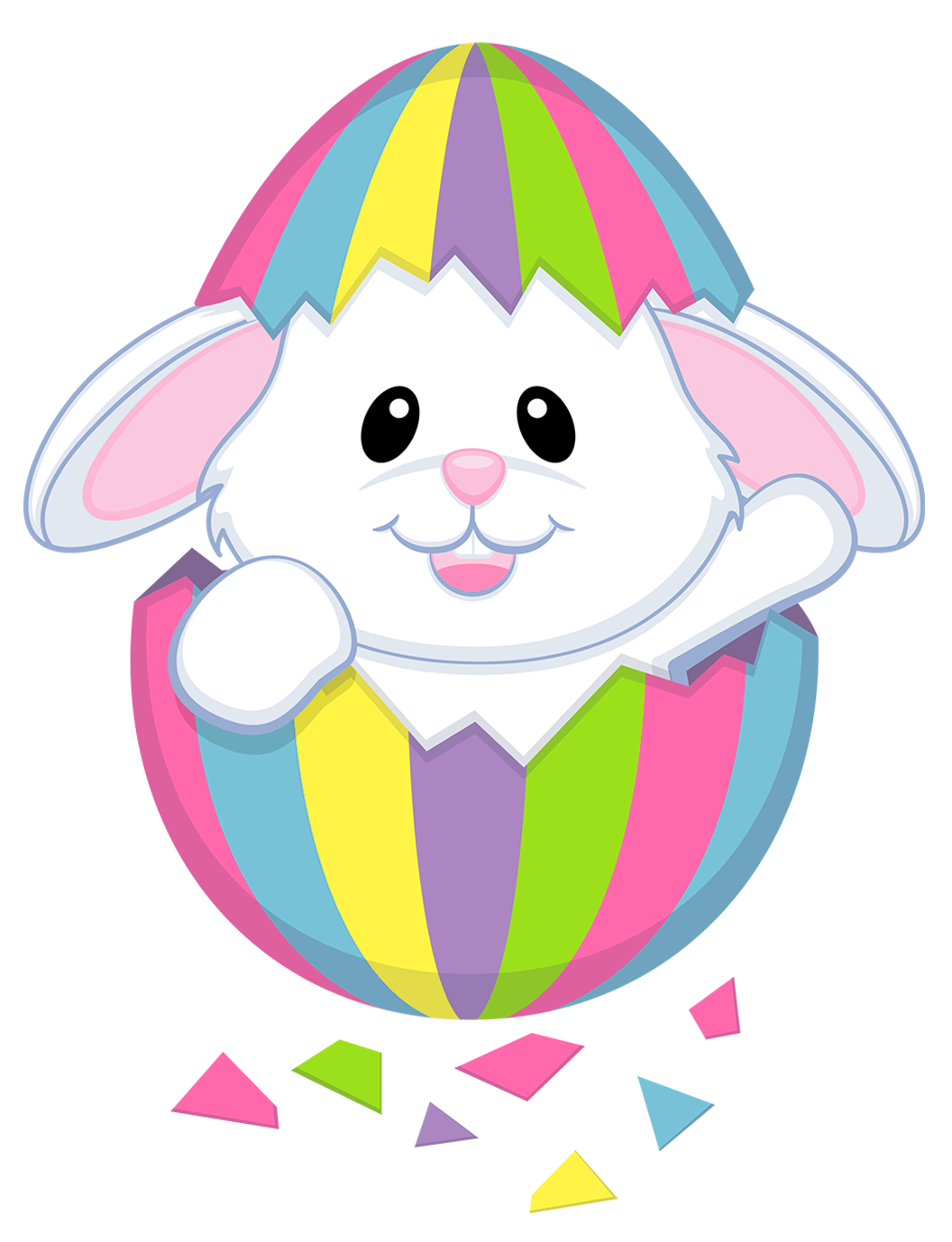 Showing post & media for Pastel easter bunny cartoon.