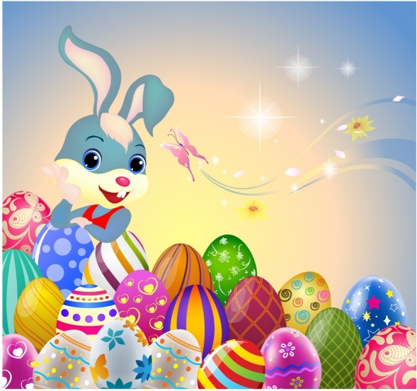 Free Easter Bunny Clipart Download.