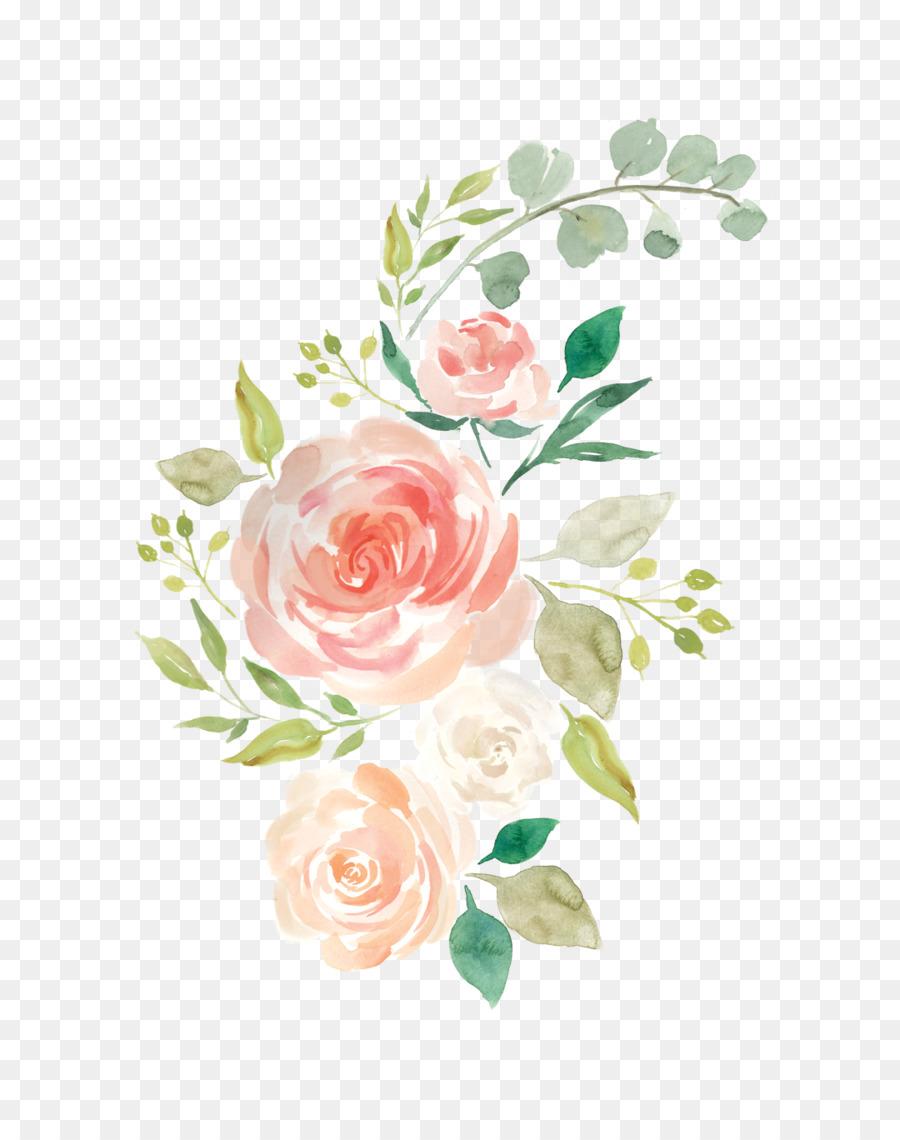 Pastel Floral Background clipart.