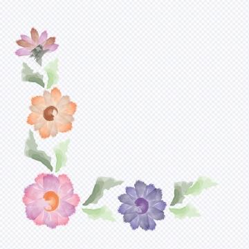 Pastel Floral PNG Images.