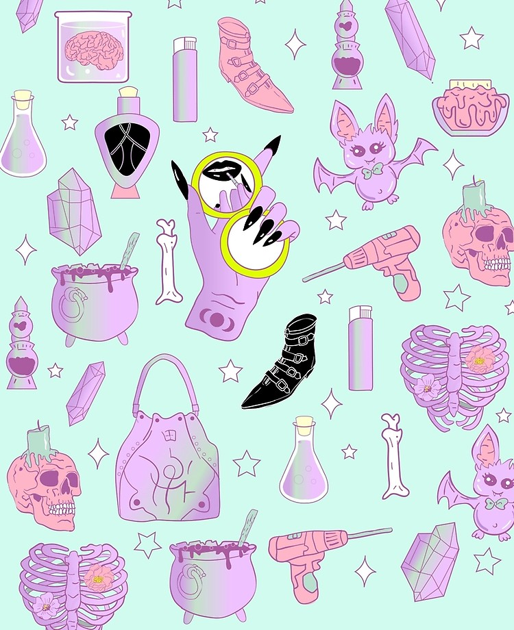 Witchy Pastel Goth: My Favorite Things.