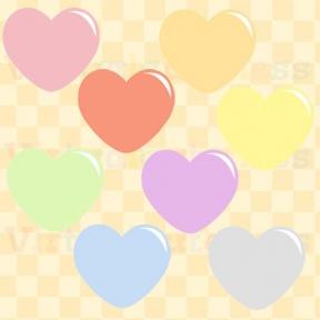 Pastel Heart Clipart.