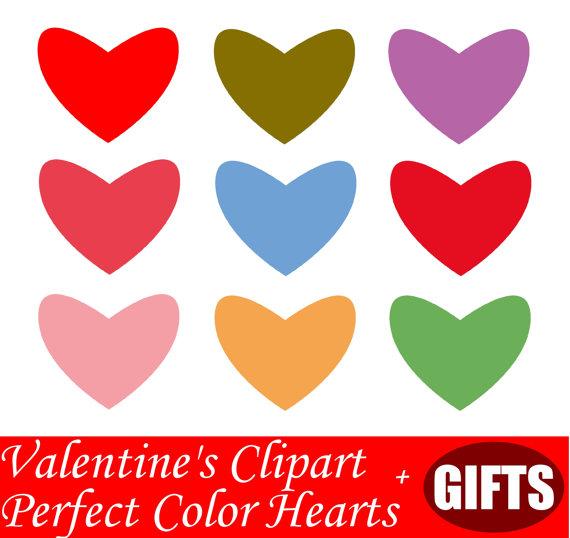 Hand Drawn Heart clipart Pastel Hearts decal Heart decor Heart.