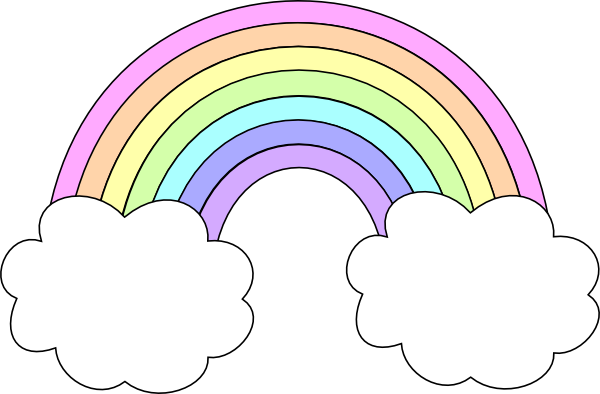 Free Pastel Rainbow Cliparts, Download Free Clip Art, Free.