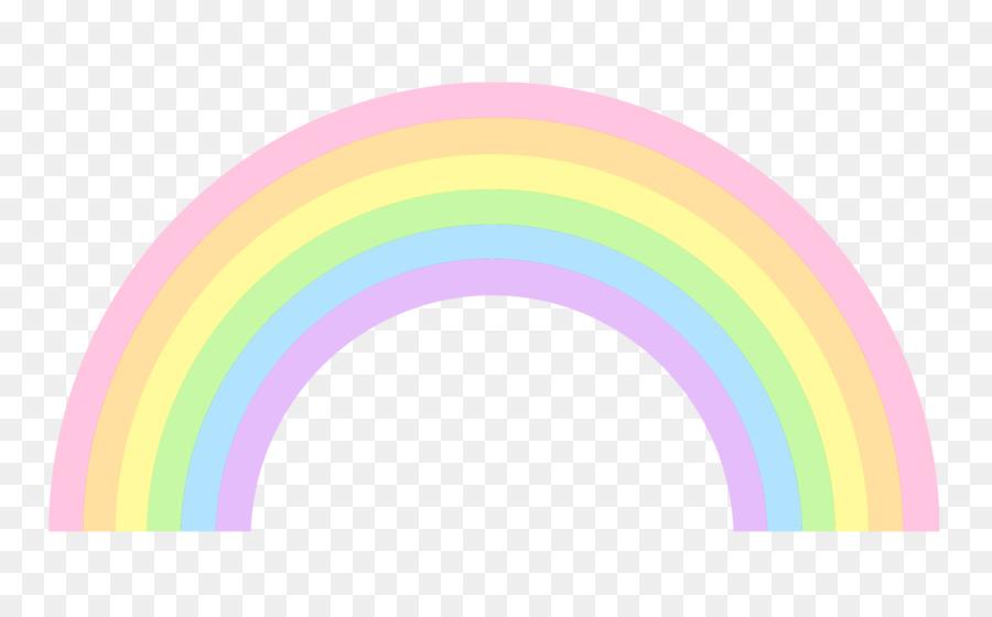 Pastel Rainbow clipart.