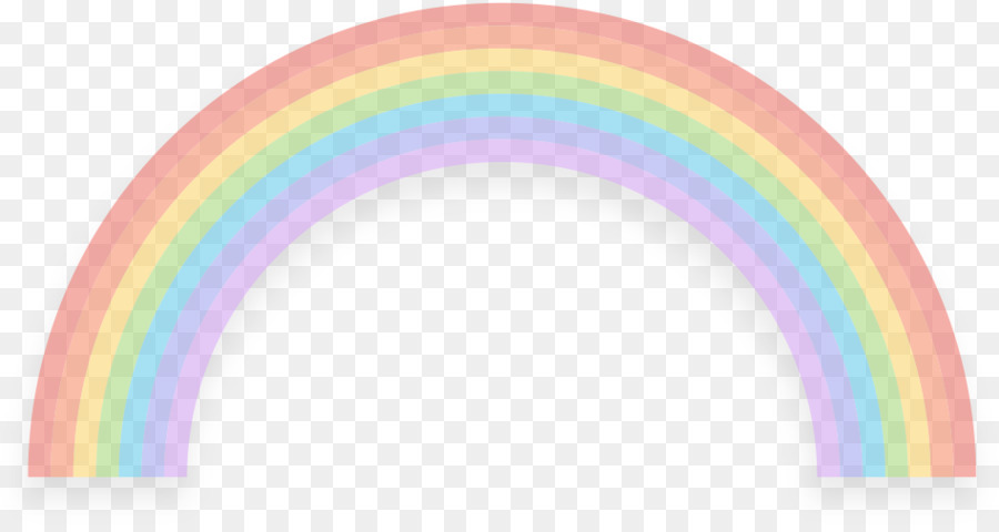 Pastel Rainbow png download.